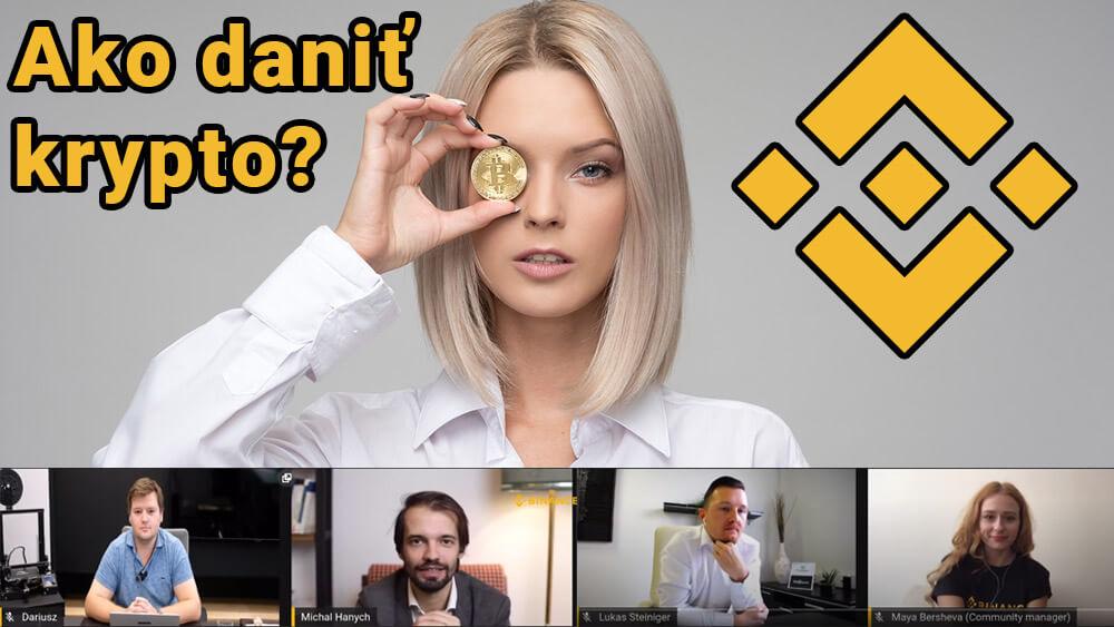 7.12.2020 Ako zdaniť kryptomeny na SR a ČR? Stručné zhrnutie zo streamu Binance