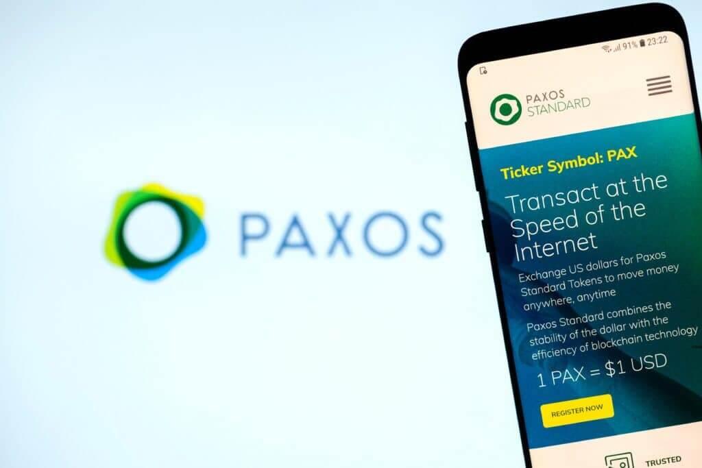 30.04.21 Paxos získává 300 milionů dolarů