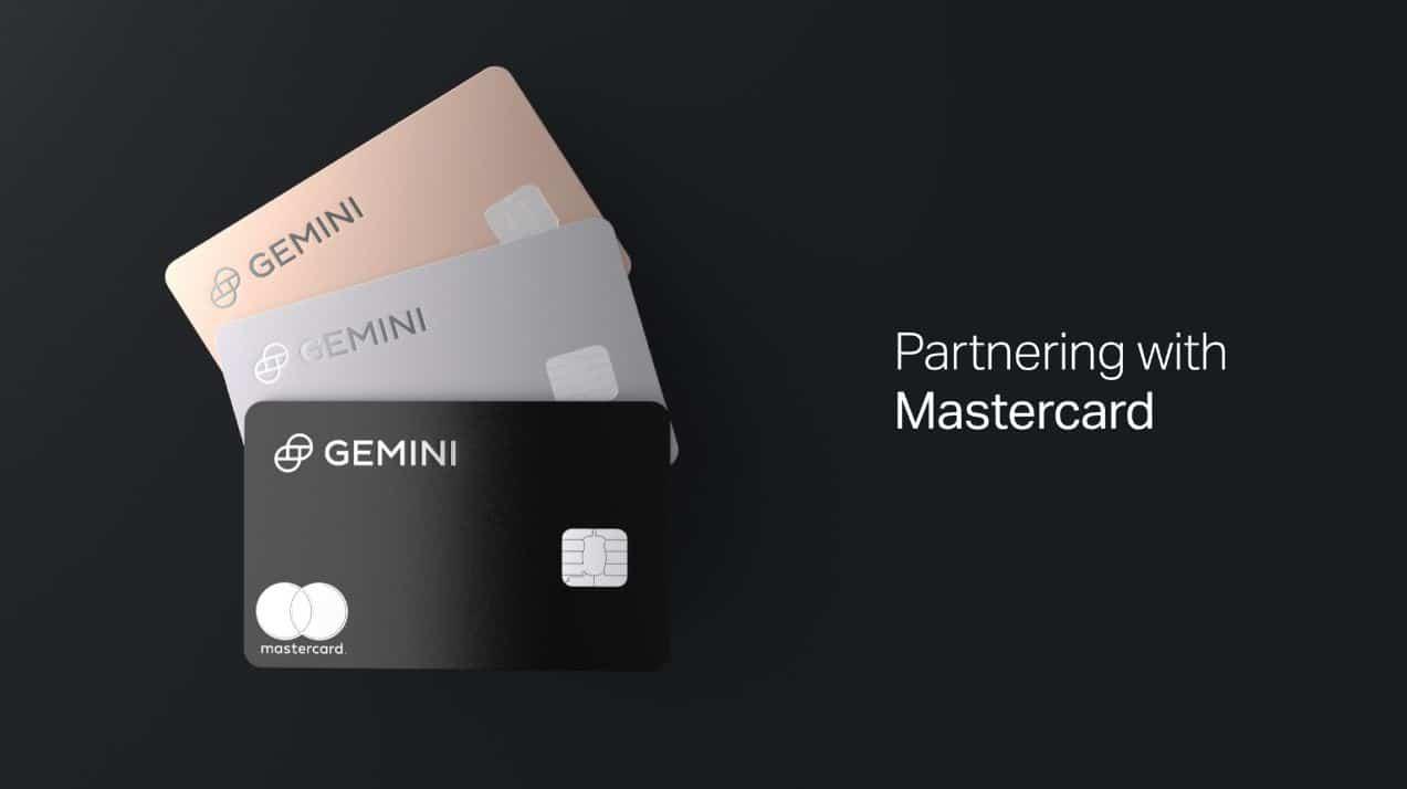 30.04.21 Mastercard ve spolupráci s Gemini představuje kryptoměnové karty